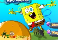 Игра Губка Боб хочет сэндвич