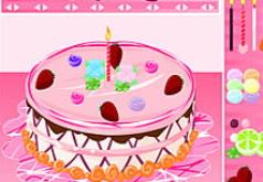 Игры Укрась праздничный торт