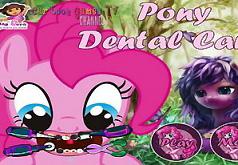 Игры Лечим зубы Пинки Пай
