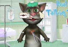 Игры Говорящий кот ранен