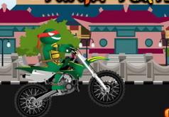 Игры Черепашка ниндзя байкер