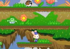игры на двоих зайчики и пузырьки