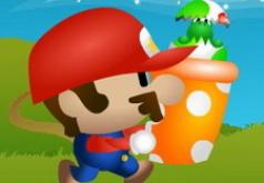 Игры марио ловит яйца