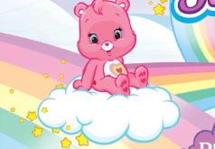 Игры Заботливый мишка катается по радуге