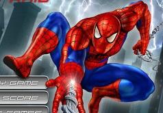 игры передвижение человека паука