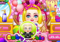 Игра Уход за малышами Барби и Кеном