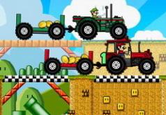 Игры марио гонки на тракторе