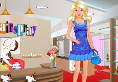 Игра Барби Стейси в комнате