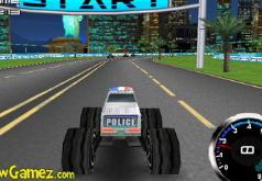 игры монстр трак полицейский