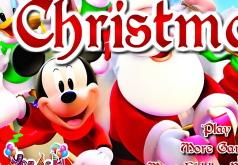 Игры Рождество Микки и Санта Клауса