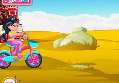 падение с велосипеда флеш игра