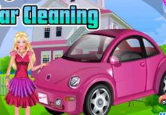 игры мыть машины барби