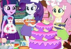 Игры Эквестрия Готовка Торта