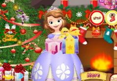 Игры Новогодняя елка принцессы Софии