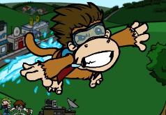 игры веселая летающая обезьянка