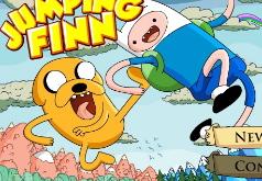 игры время приключений прыгун финн