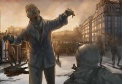 игры на троих зомби