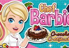 Игры Шоколадный чизкейк от Барби