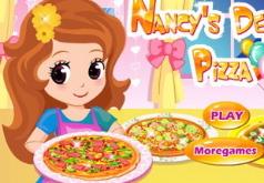 Игра Роскошная пицца Нэнси