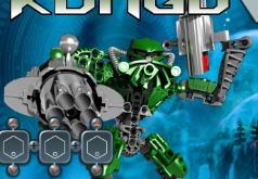 игры лего робот бионикл конгу