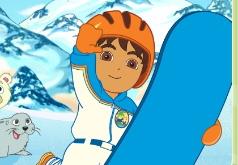 Игра Спасение на сноуборде