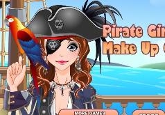 Игры Макияж для девушки пирата