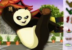 игры одень панду