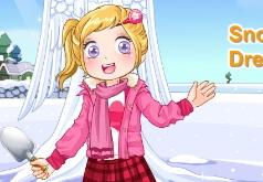 игры милый снежный ангел