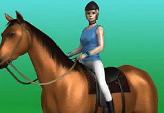 Игры Прыжки на лошади оревнование часть 2