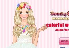 Игры Разноцветные свадебные платья