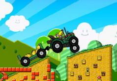 игры на двоих марио трактор