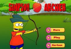 Игра Симпсоны: Барт — лучник