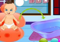 Игры малыш в ванне