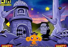 Игра Счастливая обезьянка Охота на ниндзя 2