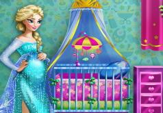 Игры Комната беременной Эльзы