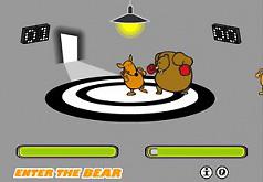 игры кенгуру против медведя