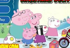 Игра Свинка Пеппа Рождественская доставка