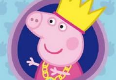 Игра Свинка Пеппа королева Пазл