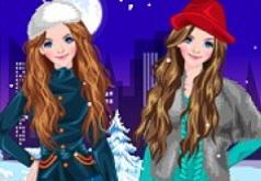 Игры Близняшки зимой