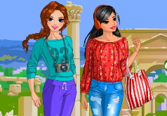 Игры Подружки путешественницы