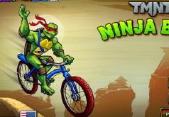 Игра Ниндзя черепашки выходят на велотрек