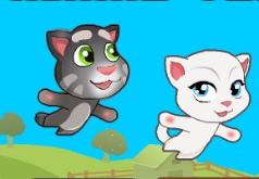 игры на двоих летающие котята