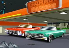 игра машины поехали в гараж