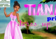Игры Принцесса Тиана Одевалка