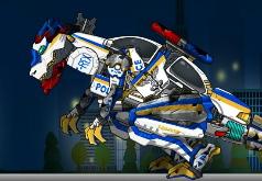 Игра Ремонт дино робота копа