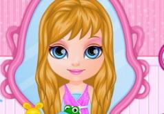 Игры Малышка Барби Заплетаем косички