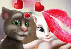 Игры Говорящий Том Тайный Поцелуй