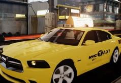 Игра Додж-такси: пазл
