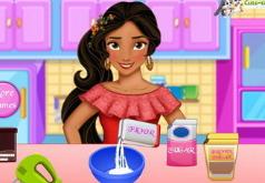 Игры Елена из Авалора готовит пирог