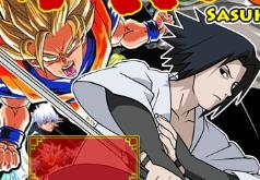 Игра Борцы аниме Сасуке